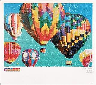 Hot Air Balloon Collaborative Sticker Mosaic