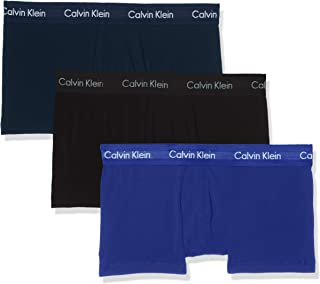Calvin Klein Men's 3P Low Rise Trunk Boxer Short