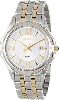 Men's SGEE94 Two-Tone Le Grand Sport White Dial Watch
