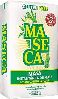Maseca Gluten Free Instant Corn Masa Flour 25lb (Pack of 1)