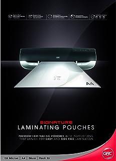 GBC BL125M25A4 Laminating Pouch, A4 125 Micron PK25