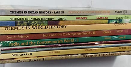 NCERT History Books Set of Class - 6 TO 12 (ENGLISH MEDIUM) for UPSC Prelims / Main / IAS / Civil Services / IFS / IES / ISS / CISF / CDS / SCRA / IFS / NDA (9 BOOKS)