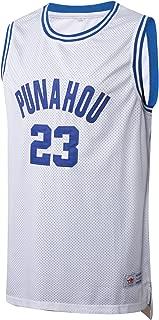 MM MASMIG Barack Obama 23 Punahou High Basketball Jersey Commemorative Edition S-XXL White