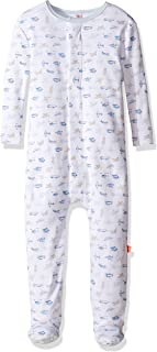 Magnificent Baby Baby Boys' Magnetic Airplane Footie