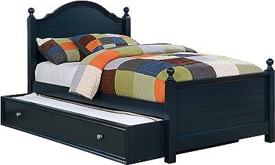 247SHOPATHOME Decker Panel Kids Bed, Single, Blue