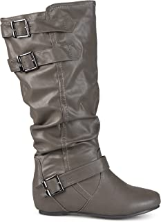 Best faux leather slouch boots Reviews