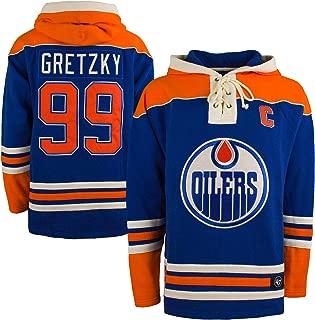 '47 Edmonton Oilers Wayne Gretzky NHL Alumni Heavyweight Jersey Lacer Hoodie