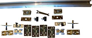 Series 1 Heavy Duty Bifold Track and Hardware Kit (60 inch 4-Door System)