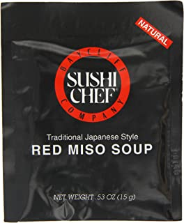 Sushi Chef, Soup Red Miso, 0.53 OZ (Pack of 12)