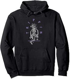 Skeleton Man Trippin Pullover Hoodie