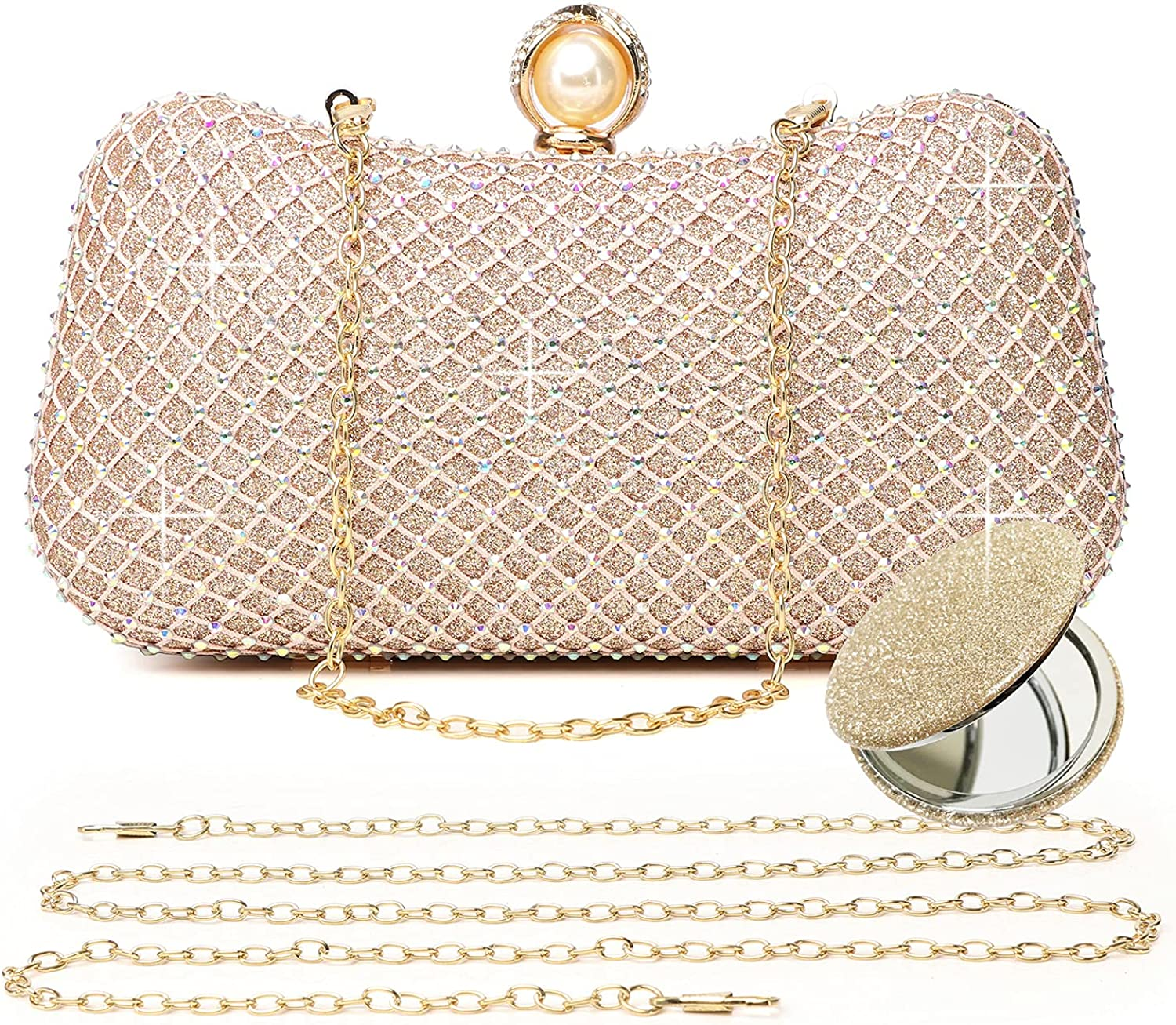Colored diamonds clutch Ranking TOP14 purses for bags h wedding women evening Quality inspection