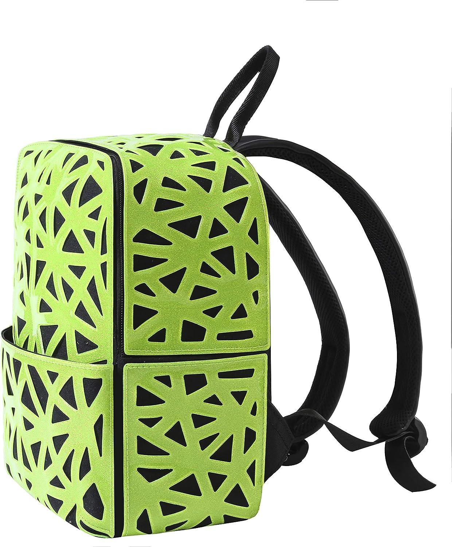 Fashion Backpack Geometric backpack Laser Backpack for women