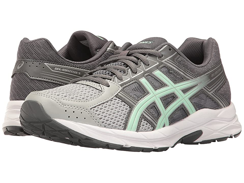 378aa4fadd64 ASICS GEL-Contend 4 (Mid Grey Glacier Sea Silver) Women