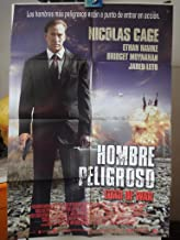 Original Mexican Movie Poster Lord Of War Hombre Peligroso Señor De La Guerra Nicolas Cage Ethan Hawke