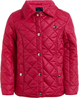 Tommy Hilfiger Girls' Diamond Quilted Barn Jacket