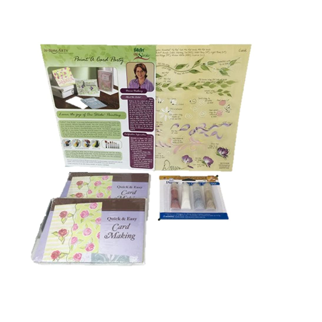 Donna Dewberry One Stroke Card Making Party Kit