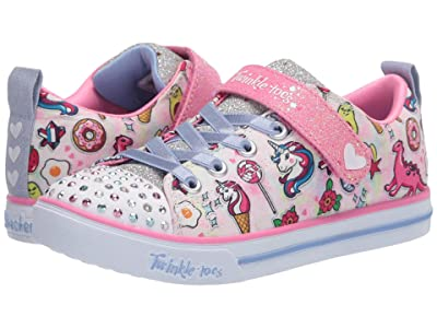 SKECHERS KIDS Twinkle Toes Sparkle Lite Dreamyland 314053L (Little Kid/Big Kid) (Light Pink/Multi) Girl