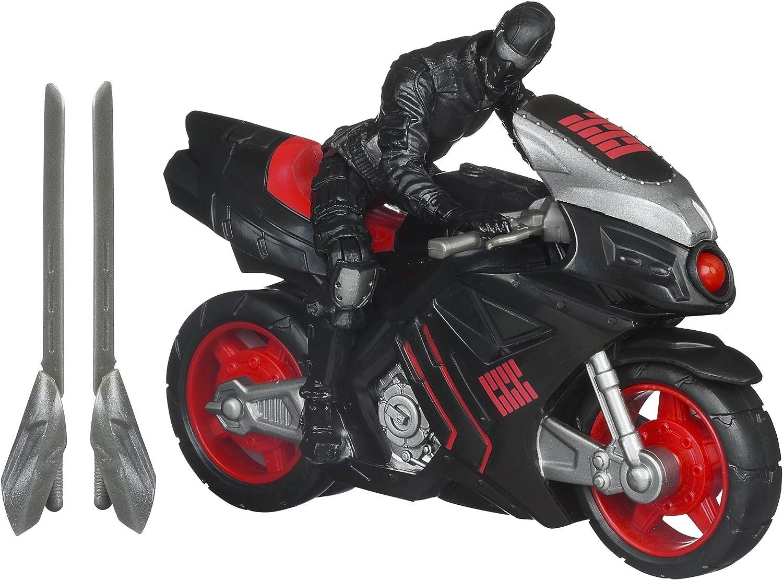 GI Joe M12 Fahrzeug ninja Geschwindigkeit Zyklus w   Snake Eyes