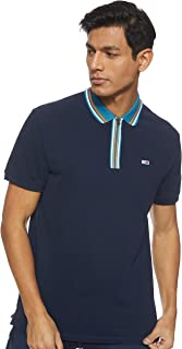 Tommy Jeans Men's Tjm Zip Polo