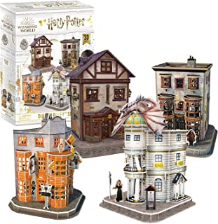 3D Puzzle Collection Harry Potter Chemin de Traverse 4 en 1