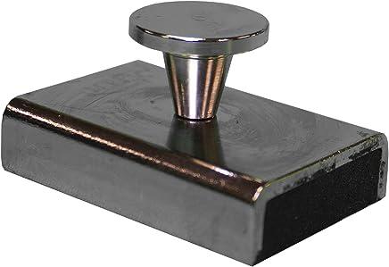 MPI 壁贴 - 陶瓷磁性材料,钢箱,高冲击环氧树脂 25 lbs, 4 pack WM-25-4pck