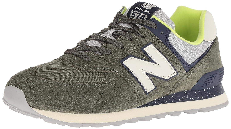 [ニューバランス] Classics クラシック メンズ 男性用 シューズ 靴 スニーカー 運動靴 ML574v2 - Covert Green/Pigment [並行輸入品]