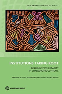 Institutions Taking Root: Building State Capacity in Challenging Contexts (New Frontiers of Social Policy)