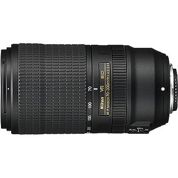 Nikon AF-P 70-300mm f/4.5-5.6E and VR Telephoto Lens for DSLR, Black [Nital Card: 4 Years Warranty]