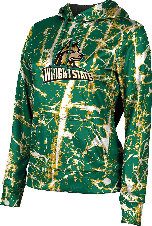 ProSphere Wright State University Girls' Pullover Hoodie, School Spirit Sweatshirt (Distressed)