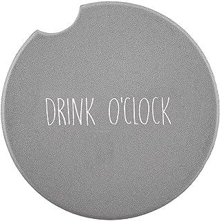 SB Design Studio SIPS Ceramic Car (Console) Coaster, Drink O'Clock