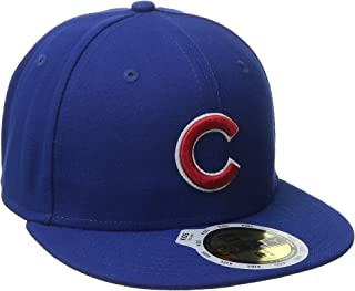 buy cheap eae2a b658b New Era MLB Mens MLB Chicago Cubs Youth Authentic on Field Game 59fifty Cap