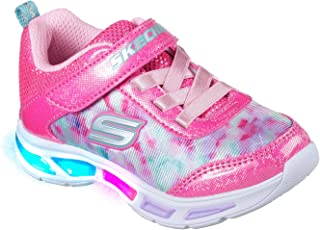 Skechers Kids Girls' Litebeams-Dance N'Glow Sneaker
