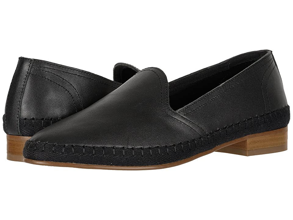 Soludos Venetian Loafer (Black) Women's Shoes
