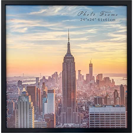 773329002424 24x24 Inch White Picture Frame Craig Frames American Classic 1.75 Wide