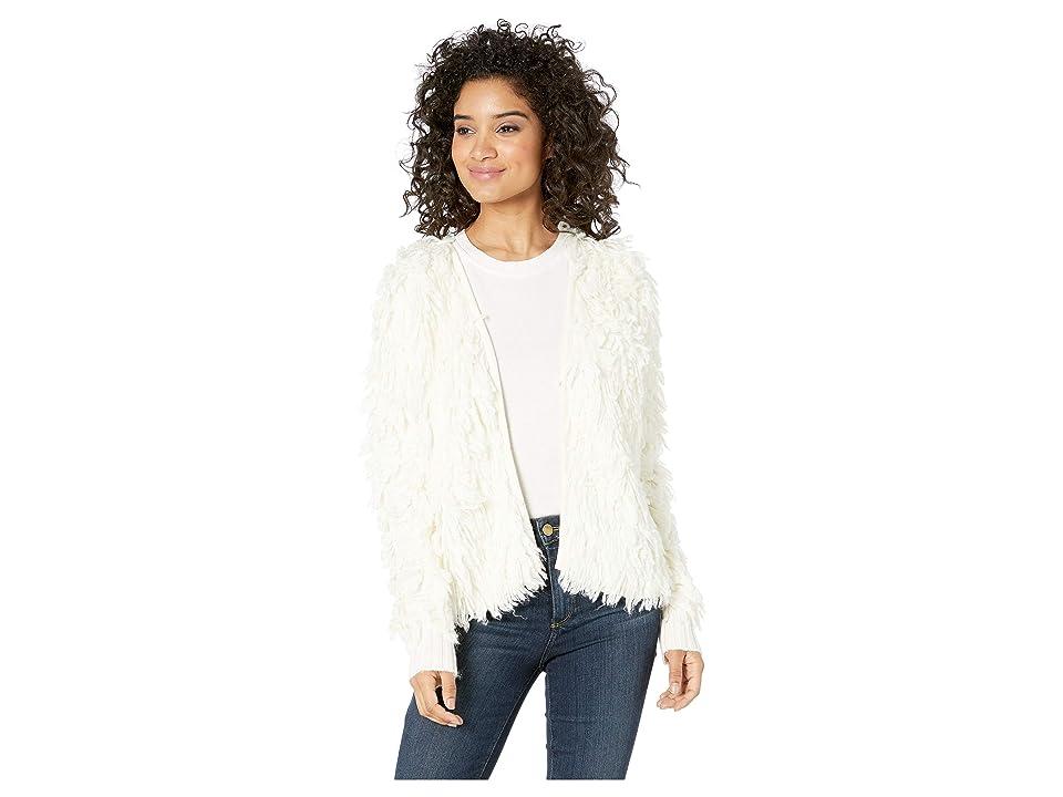 1.STATE Loop Stitch Sweater (Antique White) Women