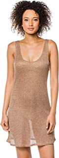 BCBG Max Azria Women's Luxe Cover Sheer Tunic Swim Cover Up