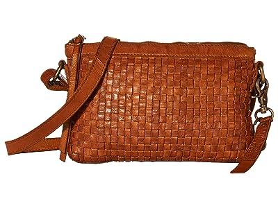 FRYE AND CO. Greta Crossbody (Whiskey) Handbags