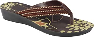 Shoefly Brown-5016 Latest Collection of Casual Slippers for Women