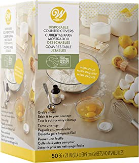 Wilton Disposable Counter Covers Mega Pack, 50-Count