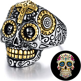 mexican aztec rings