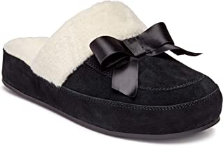 Vionic Women's Sublime Nessie Mule Slipper - Ladies Backless House Slippers with Concealed Orthotic Arch Support