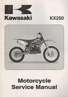 2005 KAWASAKI MOTORCYCLE KX250 SERVICE MANUAL 99924-1340-01 (320)