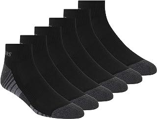 مجموعة من 6 جوارب بربع قصبة للرجال من سكيتشرز