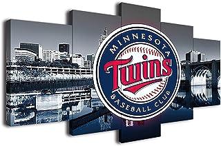 Reversible Minnesota Twins Fabric Coaster set Coffee Coasters Coaster Set Baseball Decor MN Twins Twins Baseball