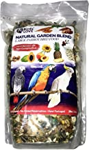Birds LOVE All Natural Garden Blend Bird Food for Lovebirds, Parakeets, Cockatiels, Conures, Quakers, Cockatoos, Macaws and All Sized Birds