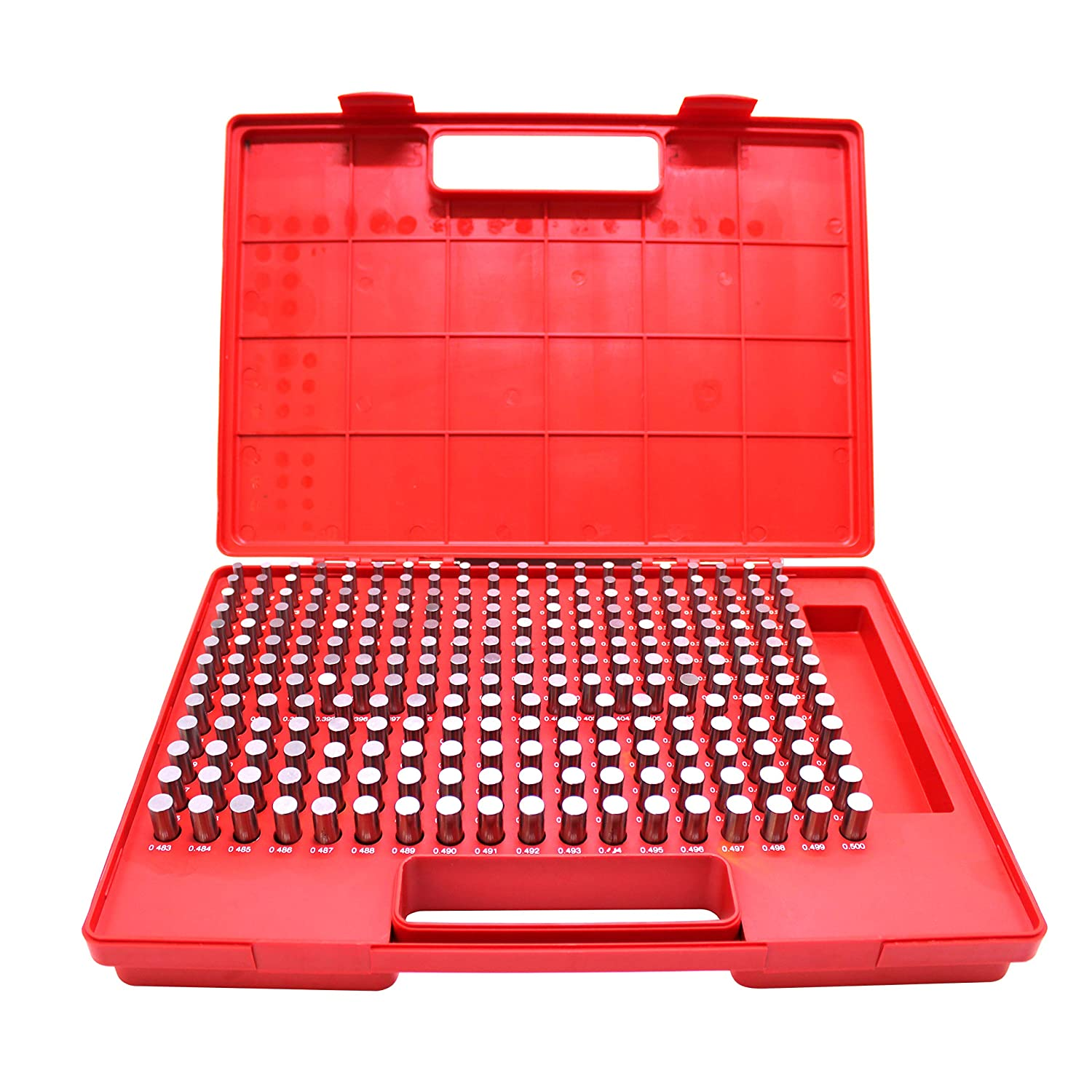 HFS R Class ZZ Steel Pin Gage Set Recommended 250pcs Purchase Minus 0.251-0.500