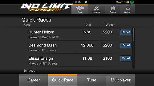 『No Limit Drag Racing』の8枚目の画像