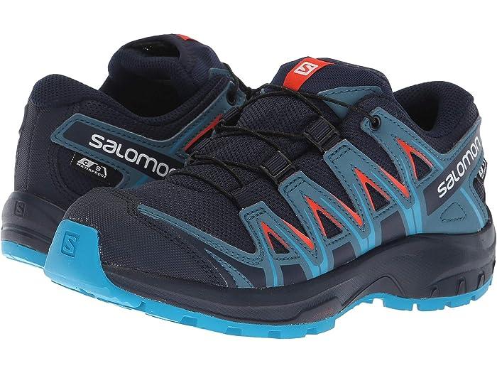 D Trail Shoes 13 Medium Salomon Boys XA Pro 3D Green Hiking Little Kid 0689