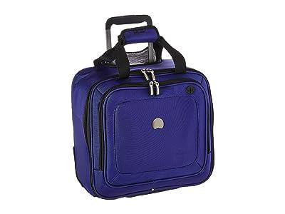 Delsey Cruise Lite Softside 2-Wheel Under-Seater (Blue) Luggage
