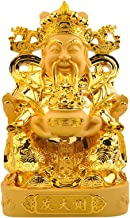 God of Fortune Statue Feng Shui Decorations for Home Office, CAI Shen Statue for Wealth and Success - Chinese New Year Gift,L